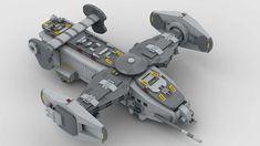 Lego Spaceship, Lego Robot, Lego Mecha, Spaceship Design, Minifigures Lego, Instructions Lego, Here I Go Again, Lego Ship, Concept Art World