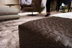 FLEXFORM BANGKOK #ottoman. Find out more on www.flexform.it