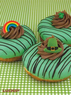 St. Patrick's Day Donuts