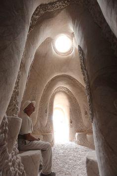 """The Cavedigger"" Ra Paulette, New Mexico, USA"