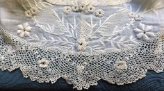 Antique Victorian Irish Crochet Lace Large by AntiqueDelights