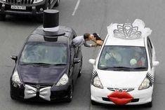 Weddbook ♥ Fairytale Wedding Car for dream wedding. Cindrella's wedding car with pink roses. Wedding Fotos, Wedding Ideias, Wedding Pictures, Wedding Matches, Perfect Wedding, Dream Wedding, Wedding Day, Wedding Bride, Young Wedding