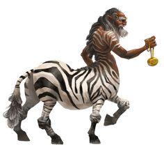 zebra centaur | 72% opacity - After hearing the feedback I got on the portfolio...