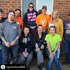 Local 528 Women Cement Masons and Plasterers Cement, Concrete, Labor Union, Masons, Las Vegas, Fishing, Join, Instagram, Faces
