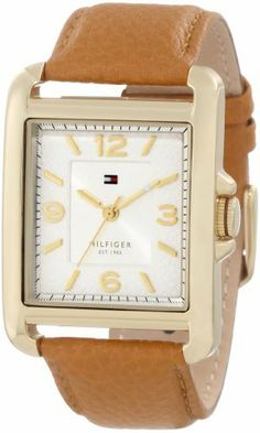 Tommy Hilfiger Women's 1781210 Sport Tank Gold Plated Tan Watch Tommy Hilfiger. Save 37 Off!. $72.80. Durable mineral crystal protects watch from scratches,. Water-resistant to 30 M (99 feet). Quartz movement. White dial with arabic numerals. Rose gold plated case with camel textured leather strap