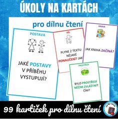 99 karet s úkoly pro žáky Literatura