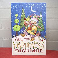 All The Happiness - Christmas Card