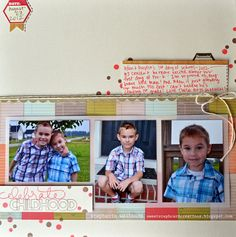 sweetsteph card creations: Celebrate Childhood- @i {heart} papers