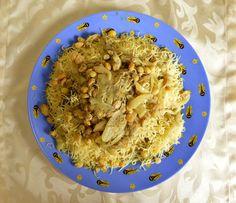 Talerz niespodzianka. Przepis na marokańską seffę Risotto, Grains, Rice, Ethnic Recipes, Food, Essen, Meals, Seeds, Yemek