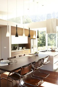 Private By Design | House and Leisure  #kitchen #dining