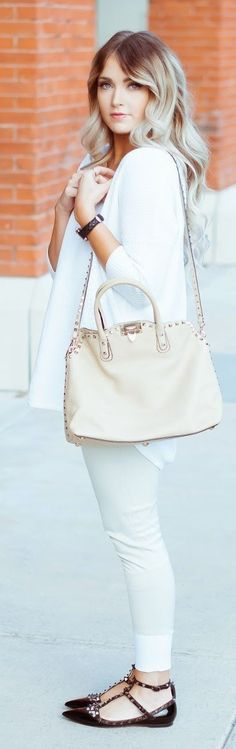 White And Bright Outfit by Cara Loren #white