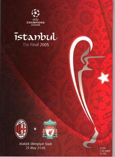 2005 Champions League Final (Istanbul) #LFC #ACMilan