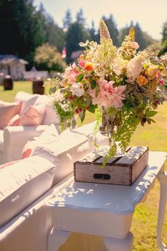 Romantic and Rustic Garden Wedding ~ Suzanne Rothmeyer Photography | bellethemagazine.com