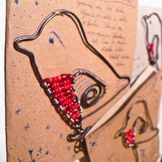 christmas lietajúce postcard Clothes Hanger, Drop Earrings, Create, Christmas, Jewelry, Coat Hanger, Xmas, Jewlery, Jewerly