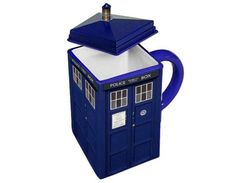 The T.A.R.D.I.S (Time and Relative Dimension in Space) Mug - Which I own and love!