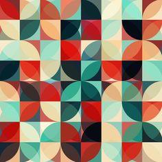 Retro Flowers par JaySan Studio en Impression sur toile | Achetez en ligne sur JUNIQE ✓ Livraison fiable ✓ Découvrez de nouveaux designs sur JUNIQE !