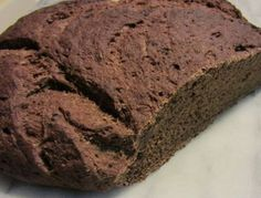 Macedonian Black Bread - Moosewood Restaurant: Ethnic and Regional Recipes from the Cooks at the Legendary Restaurant My Favorite Food, Favorite Recipes, Yeast Bread, Quick Bread, Bread Recipes, Banana Bread, Biscuits, Rolls, Food And Drink