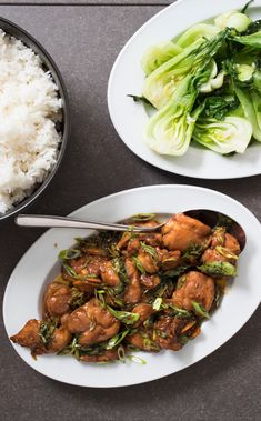 Three-Cup Chicken. One cup each of soy sauce, sesame oil, and rice wine is easy to remember -- but it doesn't work. We figured out a better formula and streamlined the recipe.