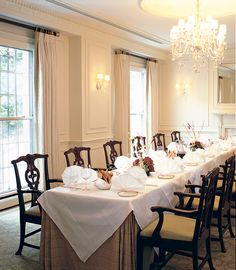 The Hay Adams Private Dining Room Capacity 24