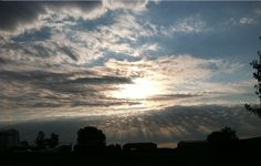 Sept 2012 by Paul Campagna Clouds, Celestial, Sunset, Outdoor, Outdoors, Sunsets, Outdoor Games, The Great Outdoors, The Sunset