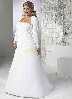 Plus Size Wedding Dresses with Jackets