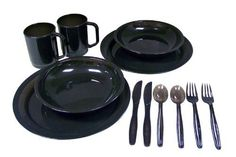 Coleman 2-Person Camping Dinnerware S…