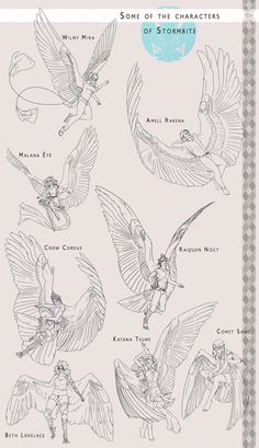 Art reference wings - art reference poses, art re. Animal Drawings, Art Drawings, Bird People, Drawing Reference Poses, Art Poses, Drawing Base, Angel Art, Art Tutorials, Drawing Sketches