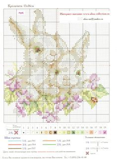 Cross-stitch Bunnies, part 2... Gallery.ru / Фото #2 - Алиса #1-11 - Крольчата - WhiteAngel