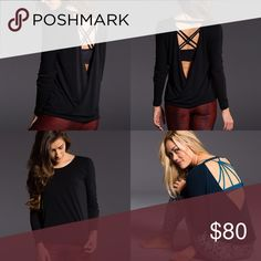 New! Open back athletic long sleeve top Brand is Onzie and it retails at Anthropologie! ⚜️I love receiving offers through the offer button!⚜️ New! Fast same or next day shipping!📨 Open to offers but I don't negotiate in the comments so please use the offer button😊 sleeve length form the top of the shoulder to the very end of the sleeve is 24.5 inches. The full length of the top is 21.5 inches from the shoulder to the hem and the back of the shirt has an extra 1.5 inches of length…