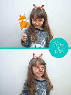 Maschere di animali fai da te per bambini