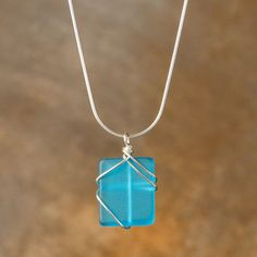 Simplicity Necklace Turquoise now featured on Fab.