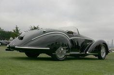 1937 Alfa Romeo 8C 2900B Corto Touring Spyder