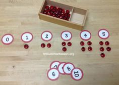 Counting Ladybugs. Nice activity for Kindergarten.