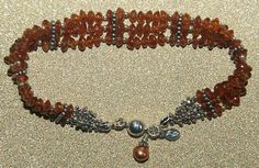 3 strand semi precious hessonite, Bali sterling silver beads topped off with a sterling silver magnetic clasp bracelet Unique Bracelets, Beaded Top, Bracelet Clasps, Silver Beads, Artisan Jewelry, Hippie Boho, Swarovski Crystals, Bali, Sterling Silver