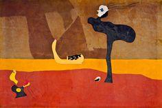 """Joan Miro """"Paysage sur les bords du fleuve Amour (Landscape on the Banks of the River Amour) 1927  ♥ Inspirations, Idées & Suggestions, JesuisauJardin.fr, Atelier de paysage Paris, Stéphane Vimond Créateur de jardins ♥"""