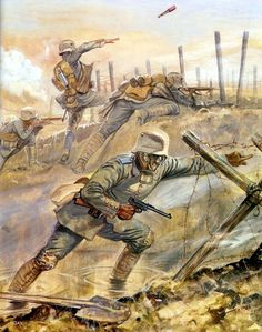 1918 Gas attack - Gerry Embleton - Osprey