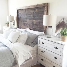 "Make Your Bedroom ""Sizzle"" with Unique Headboard Designs Guest Bedrooms, Room, Home N Decor, Home Bedroom, Home Decor, Apartment Decor, Bedroom Decor, Simple Bedroom, Guest Bedroom Decor"