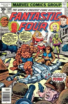 Fantastic Four # 180 by John Romita, Joe Sinnott & Marie Severin