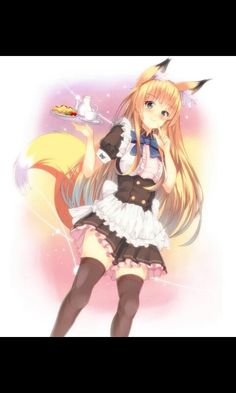 anime Fox-Girl