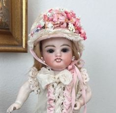 VERY-RARE-J-D-Kestner-German-Antique-ALL-Bisque-Wrestler-Character-Doll