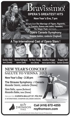 Coming this New Year's Eve! Newspaper Ad.