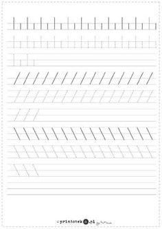 1 million+ Stunning Free Images to Use Anywhere Preschool Writing, Kindergarten Worksheets, Writing Activities, Preschool Activities, Handwriting Practice Sheets, Learn Handwriting, Learning Games For Toddlers, Toddler Learning, Pre Writing