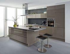 cuisine laquée grise - Recherche Google | Home decor | Pinterest ...
