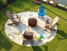 Hottest fire pit ideas brick outdoor living that won't break the bank. Find beautiful outdoor diy fire pit ideas and fireplace designs that let you get as simple or as fancy as your time and budget allow for building or improve a your backyard fire pit. Backyard Beach, Fire Pit Backyard, Backyard Landscaping, Backyard Ideas, Landscaping Ideas, Pool Ideas, Firepit Ideas, Patio Ideas For Summer, Nautical Landscaping