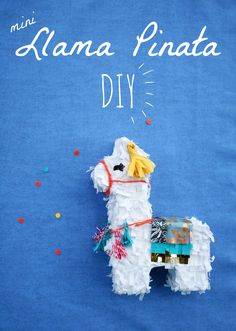 Make these super cute pinatas to mail your party invitations!