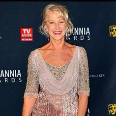"Helen Mirren wishes fashion designers would design for older women: ""My big complaint is, why aren't more dresses made with sleeves? I don't want to wear a frumpy jacket over a sleeveless dress. If you think of Elizabethan dresses or turn-of-the-century fashions, there are some amazing things you can do with sleeves, so why do so few designers put them on their dresses?"""