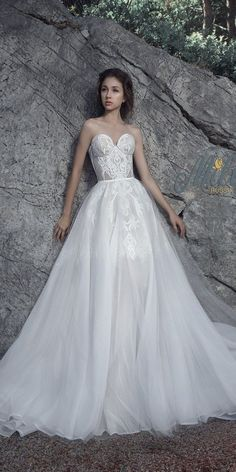 Milva Bridal Wedding Dresses 2017 Favor / http://www.deerpearlflowers.com/milva-wedding-dresses/10/