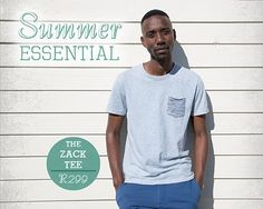 Old Khaki- Zack Tee Summer Essentials, Tees, Mens Tops, T Shirt, Fashion, Supreme T Shirt, Moda, T Shirts, Tee