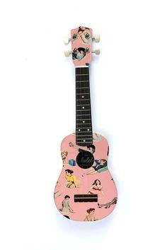 The Pin Up Ukulele by TheUkuleleWorkshop on Etsy, £60.00