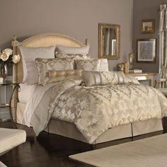 Bedding idea- Croscill® Giselle 4-Piece Comforter Set - BedBathandBeyond.com